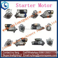 6D125 Starter Motor Starting Motor 600-813-3670 for Komatsu Bulldozer D60