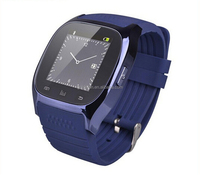 Bluetooth 3.0 smart watch M26 with camera for andrio and IOS mobile phone