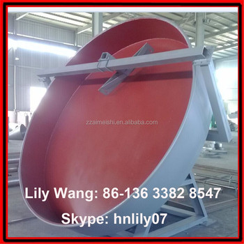 best price organic ball fertilizer granulation machine / machine for making organic fertilizer granules (Skype: hnlily07)
