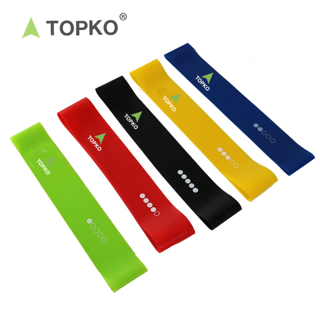 TOPKO Wholesale Private Label Physical Therapy Fitness Stretch <strong>Resistance</strong> Bands