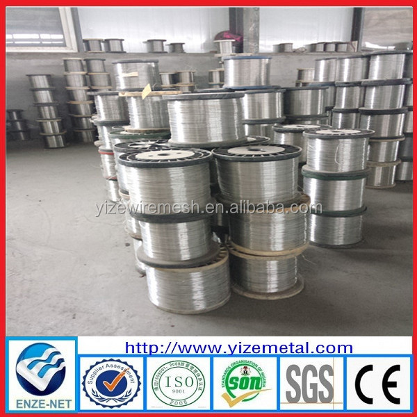 High quality 14 gauge stainless steel wire / 316 stainless steel wire ( manufacturer & ISO9001)