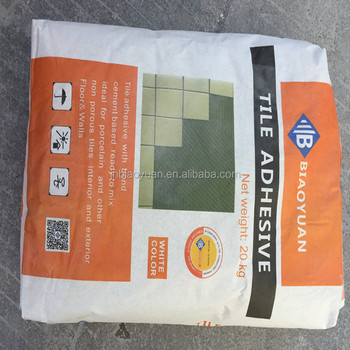 Marble Ceramic Wall Tile Adhesive Flexible , Non-Toxic Cement Based Tile Adhesive