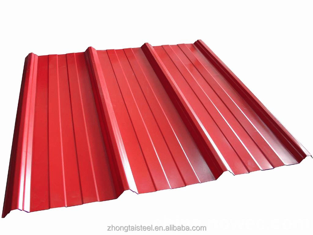 Pre-painted galvanized steel roof tiles