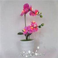 Real look beautiful design artificial flowers with led lights artificial led light flower for sale