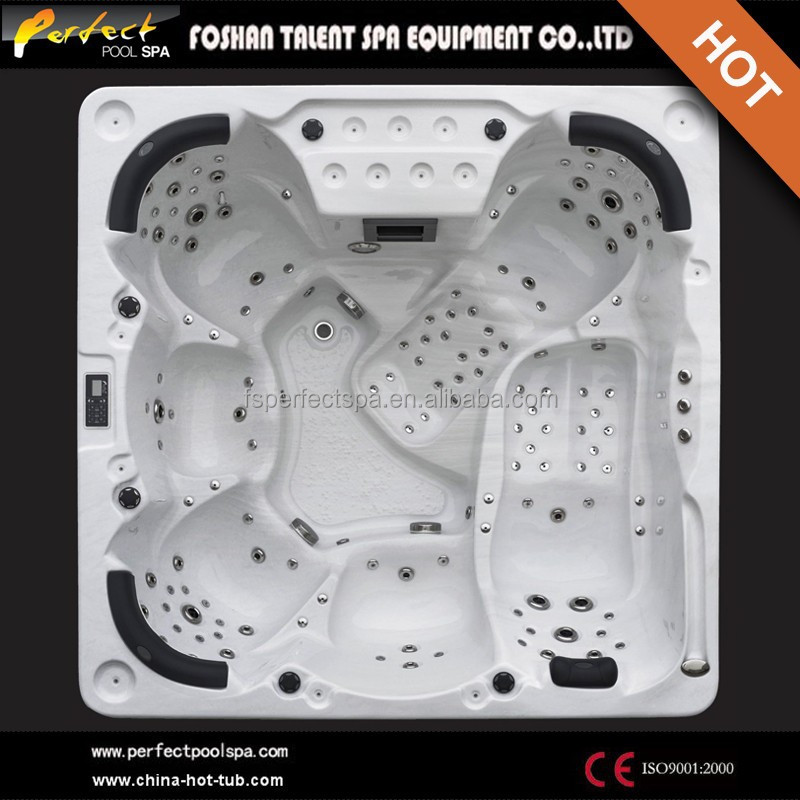 Europe new style Luxury massage hot tub/whirlpool/outdoor spa for 6 person - Olina