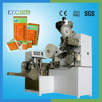 Long life KENO-TB700 Automatic high speed inner and outer tea bag packing machine