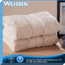 yarn dyed new style 100% organic cotton solid color silk ribbon cotton bath towel cheap bath towel in stock