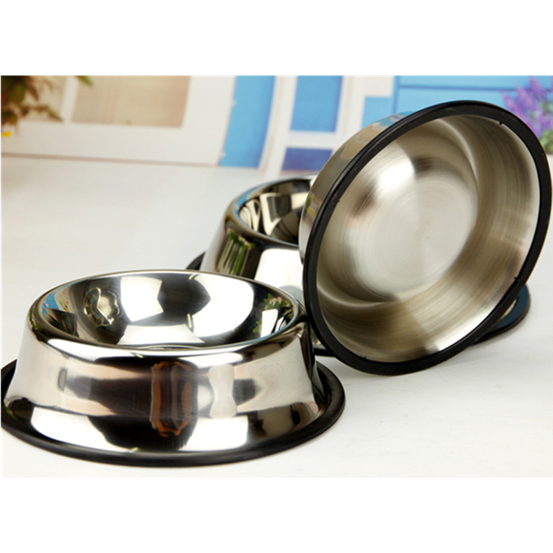 Design Stainless Steel Metal No Spill Pet Food Bowl Dog Bowl Cat Bowls Stand For Dog Dish
