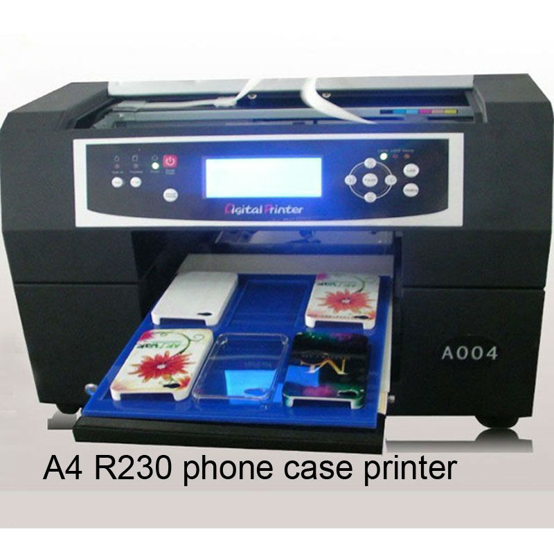 hot sales small size mobile phone cover printing machine, customize printing case for any kinds of phone cases