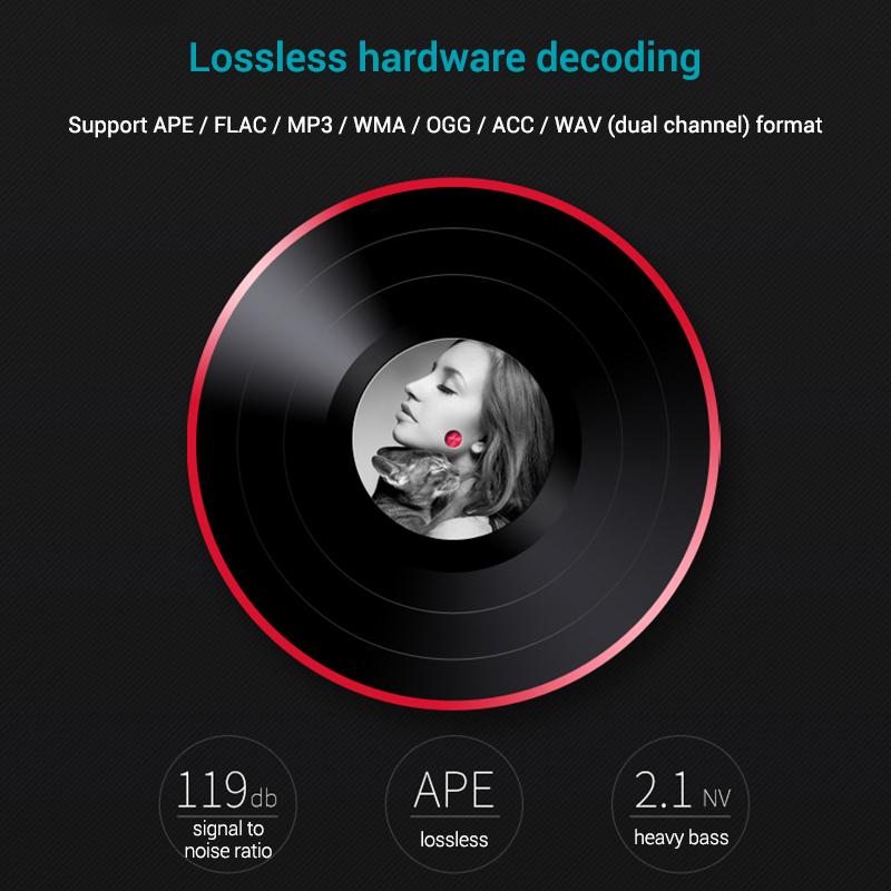 Mahdi M320 Hifi Lossless Music Bluetooth MP3 Player 1.8 TFT Screen 8GB Memory Multifunction MP3 Player Support FLAC ALAC Format (7)