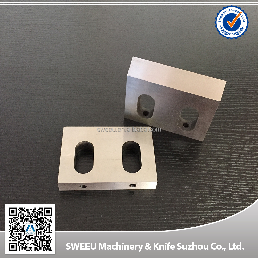 SKD11/D2 crusher knife for plastic film cutting