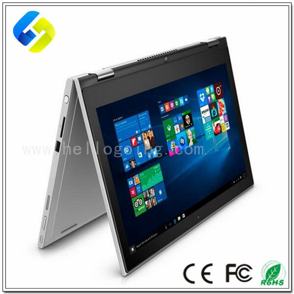 Hottest touch screen laptop 13.3inch rotation laptop windows8 OS 500GB hard disk mini laptop