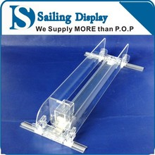 Customized Shelf Pusher for cigarette Pusher System Acrylic Shelf Divider