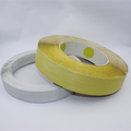 HDPE plastic gang twist wire tie/bag closure in big spool for garbage/food bag