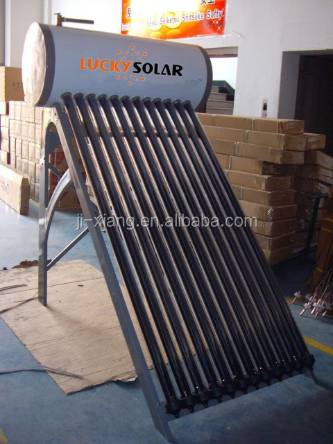 Integrated Presurized Bearing Solar water heater Calentador de agua solar 14mm stainless steel type for cold weather country