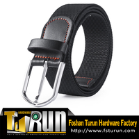 Metal Pin Buckle Belt Black 100