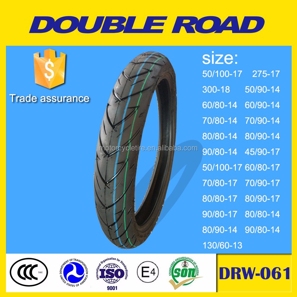 Shandong motorcycle tire factory size 80/80-17 to philippines market