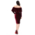 China Guangzhou Wholesale spring elegant beautiful velvet Lady apparel