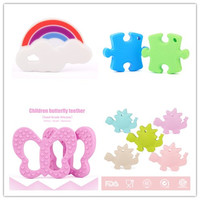 korean summer children clothing set/puzzle baby teether