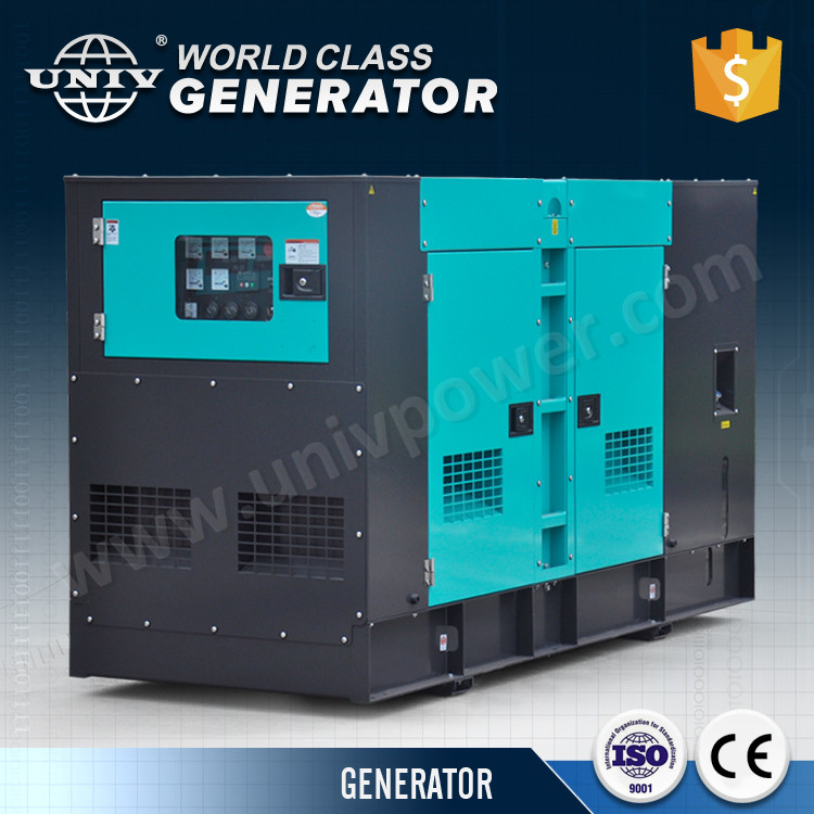 Strong canopy with good water cooled diesel engine electric 200kw generator