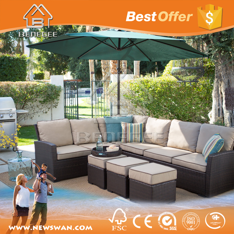Bali Rattan Outdoor Lounge Furniture / Cebu Outdoor Furniture