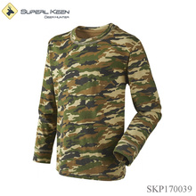 Kid Boy Camo Army Long Sleeve Hunting T-shirt