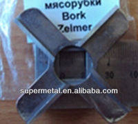 Russia style Bork Zelmer meat grinder knives and plates