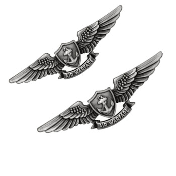 Metal pin badge making wing badges for hat emblems for pilot army beret