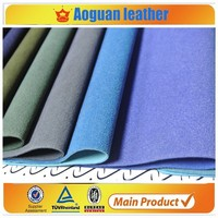 2015 Latest Synthetic Pu Leather With