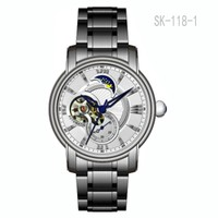 Factory Direct Custom 316 L Stainless Steel Watch Skeleton Automatic Watch