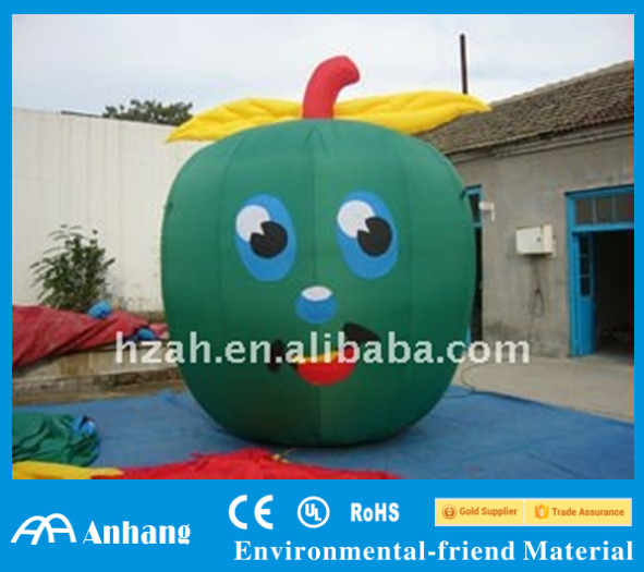inflatable apple model for fruit shop advertising