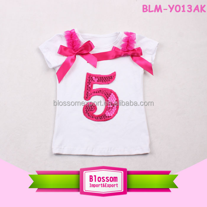 Wholesale T-shirts Bulk Cheap 100 Cotton Fabric For Promotional Baby Birthday T-shirts