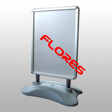 high quality water filled base poster stand