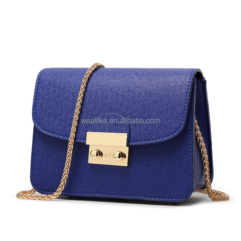 Factory Wholesale Europe Fashion PU Leather Drawstring Girls Bags Bucket Handbags for Women