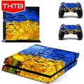For PS4 Wholesale Art Painting Cover Decals Skin Sticker Supplier