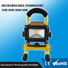 long work time dimmable 6600MAH led rechargeable flood light