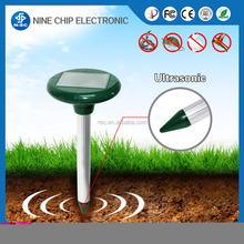 New Efficient Eco-friendly Solar Powered Outdoor Garden Yard Ultrasonic Sonic Mole Vole Snake Rodent Pest Repeller
