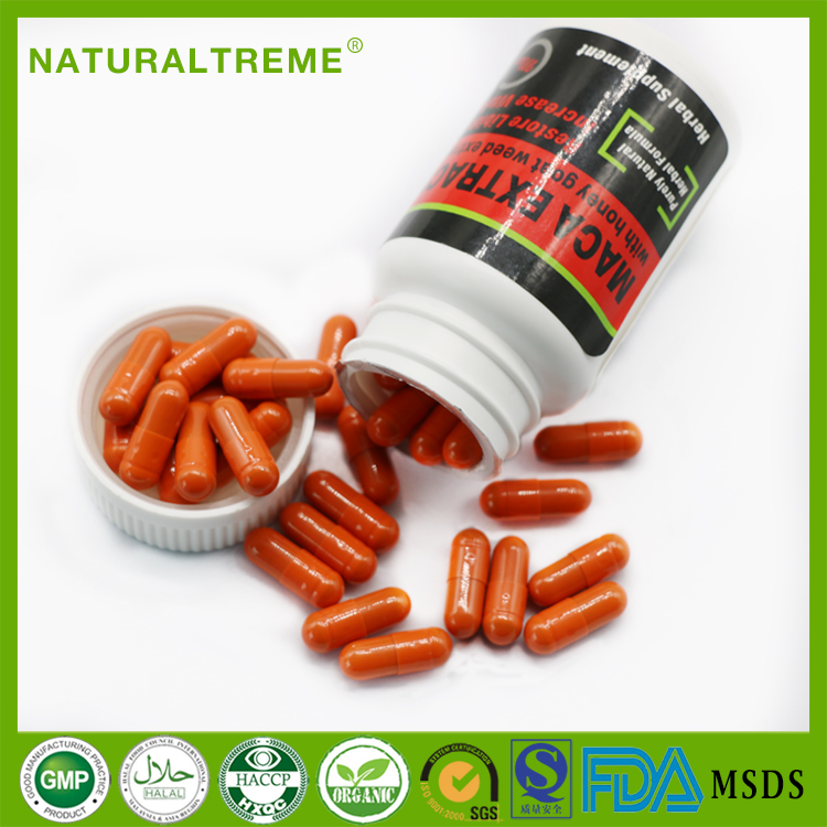 China Herbal Supplement Maca Extract Capsule with Epimedium
