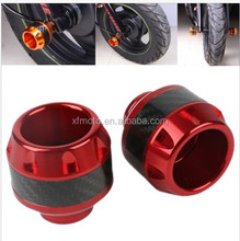 Brand NEW Red CNC Frame Sliders Crash Protector For Honda Moped Scooter