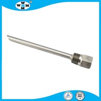 Straight Threaded Barstock Thermowell , Thermocouple, Sample Probe