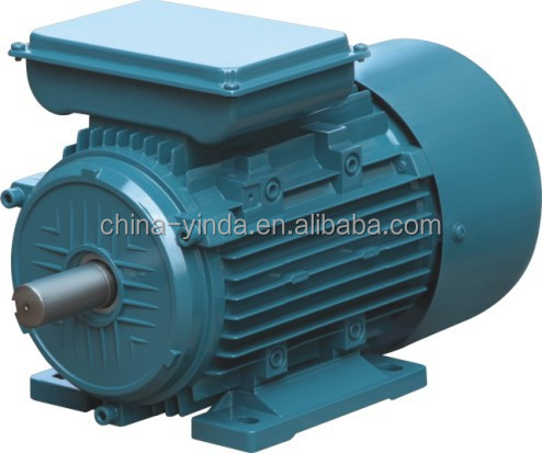 Single Phase 1.1kw 1.5hp electric motor