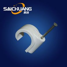 Hot selling cable clip machine locking cable clip wire nail plastic wall cable clips