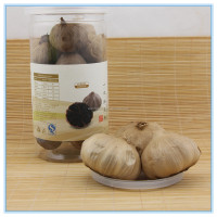 250g retail transparent bottle packed China black garlic