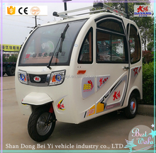 Hot Sale three wheel closed Cell Solar Panel electric tricycle Solar Powered Car