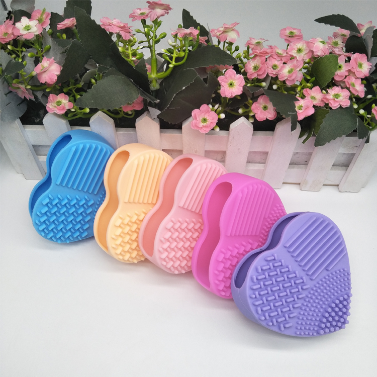 Silicone Cleansing Face Brush Facial Cleaning Brush for Deep Pore Exfoliation Wash Makeup