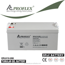OPzV Tubular GEL 12V 200Ah VRLA battery for Energy storage battery