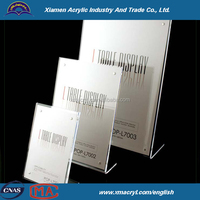 Clear Acrylic Magazine/ Brochure/ Pamphlet Display Holder