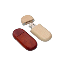 2017 promotional wholesale new usb stick wooden swivel usb flash drive 4gb/8gb wood usb memory drive with custom logo