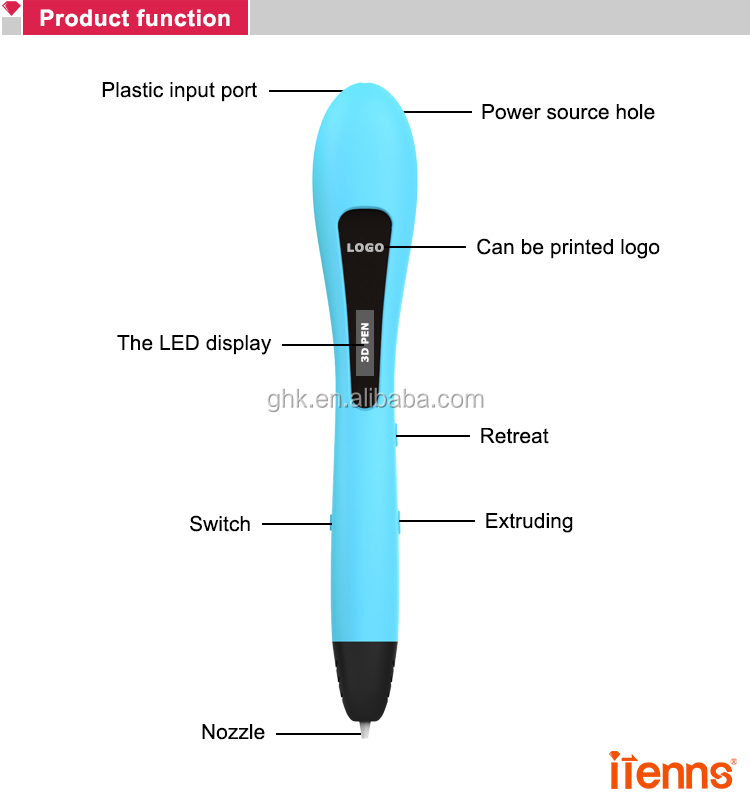 2019 New 3D Print Pen for Children Gift Low Temperature 3D Pen with Free PCL