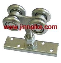 hanging sliding door wheels, steel hanging door rollers